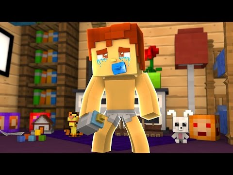 CRYING LIKE A BABY !? (Minecraft Bedwars Trolling)
