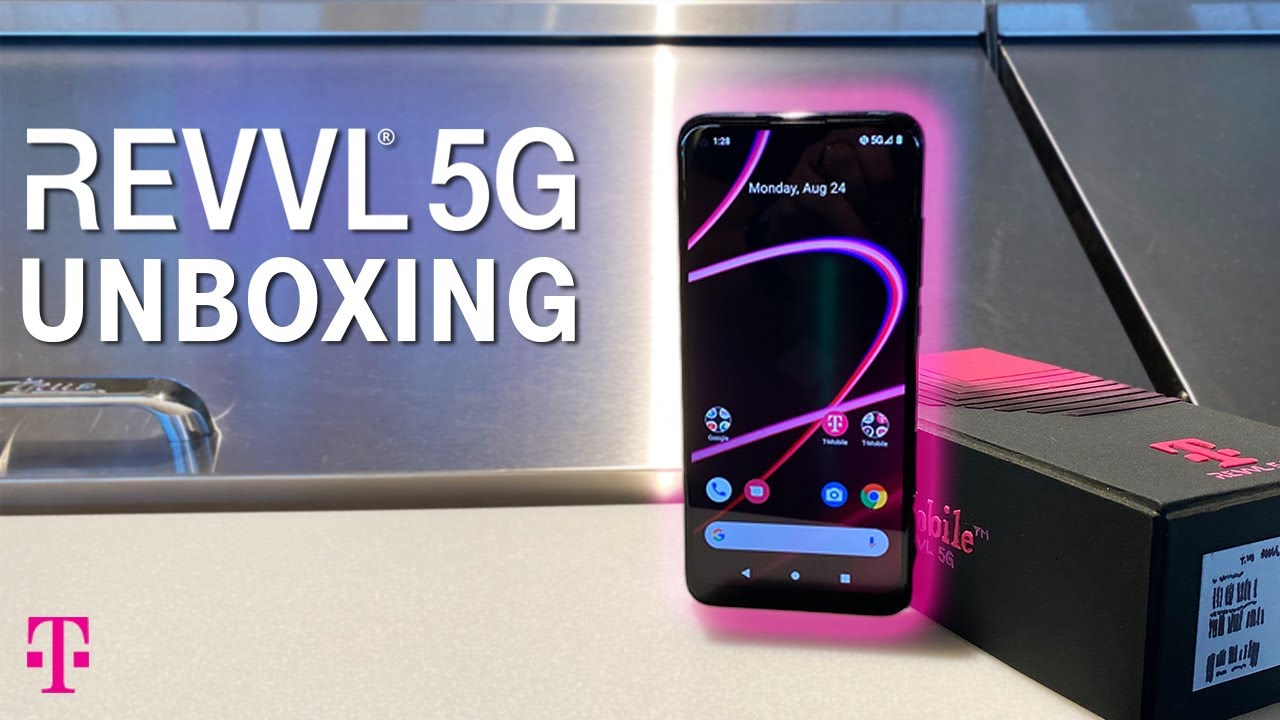 Unboxing the T-Mobile REVVL 5G, REVVL 4, & REVVL 4+ | T-Mobile