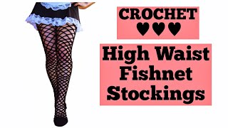 1 Pr BARBIE DOLL SOCKS Thy High Fishnet  Pink Fishnet Tights//nylons Stockings