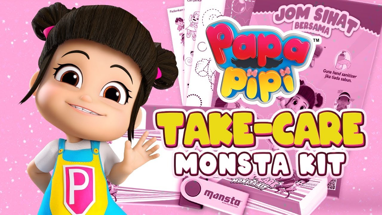 Papa Pipi Take-Care Monsta Kit