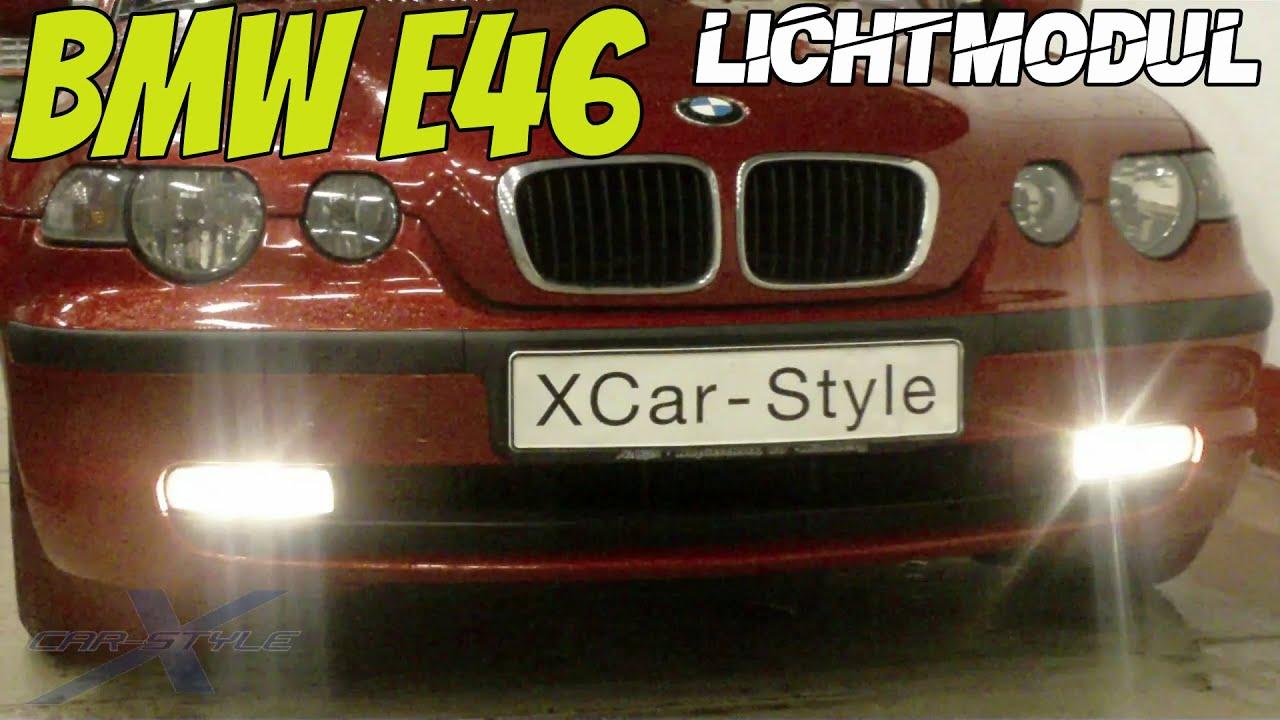 Coming Home Chirpmodul Lichtmodul passend für BMW 3er E46 Tagfahrlicht