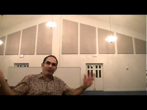 Acoustic Panels In Faith Baptist Church Youtube