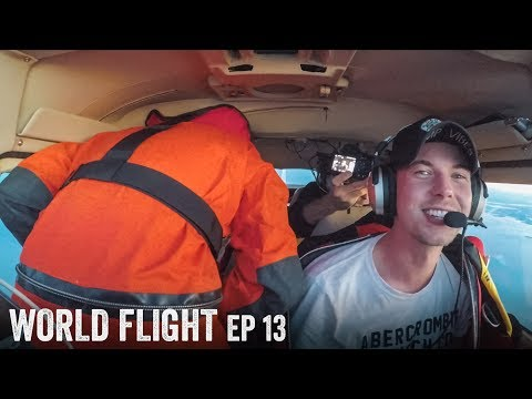 PEEING IN FLIGHT FAIL! 😂 - World Flight Episode 13