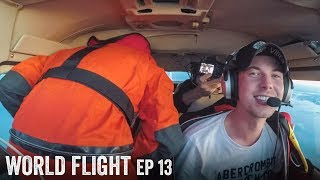 PEEING IN FLIGHT FAIL! ???? - World Flight Episode 13