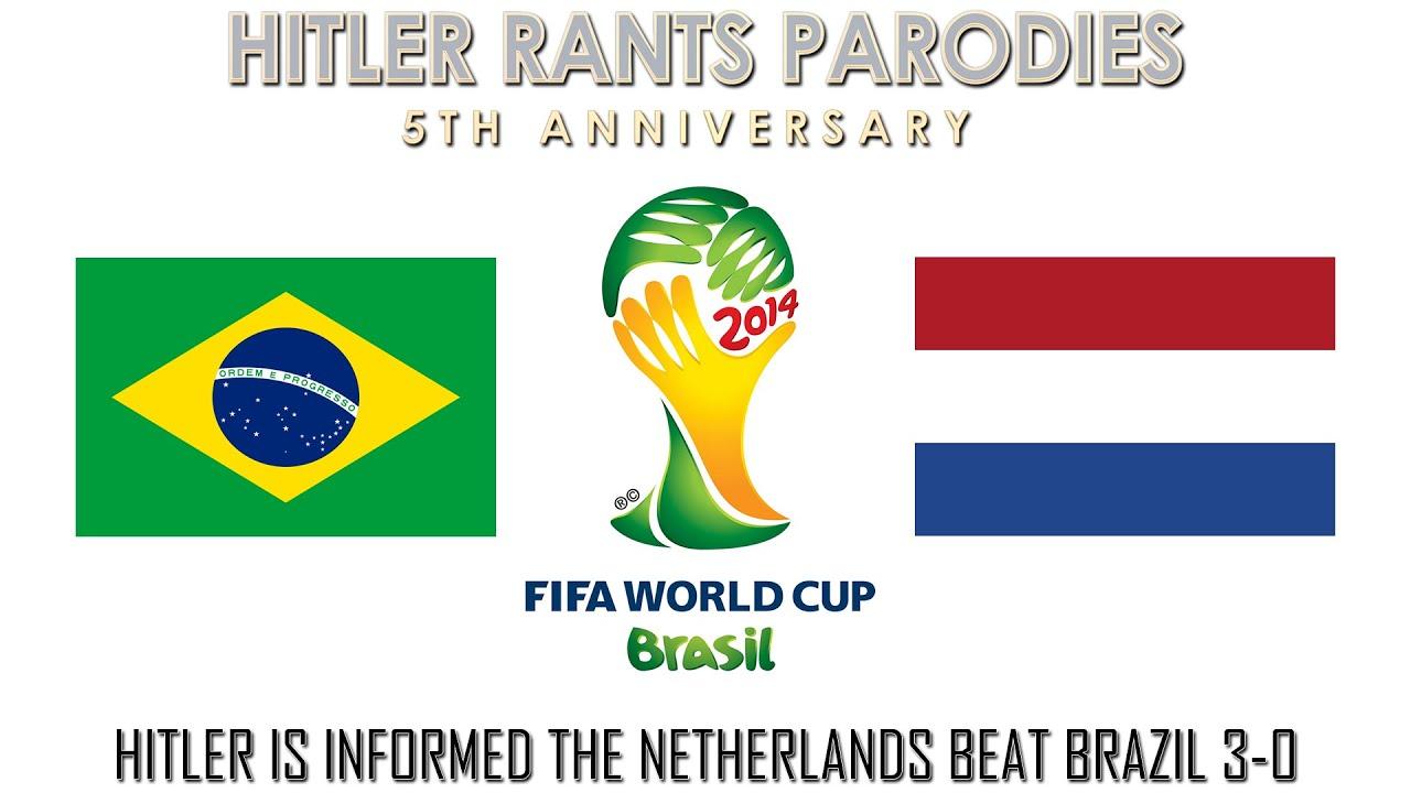 Hitler is informed the Netherlands beat Brazil 3-0