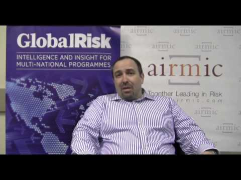 John Gibson, Group Insurance and Risk Manager from Next talks to Global Risk