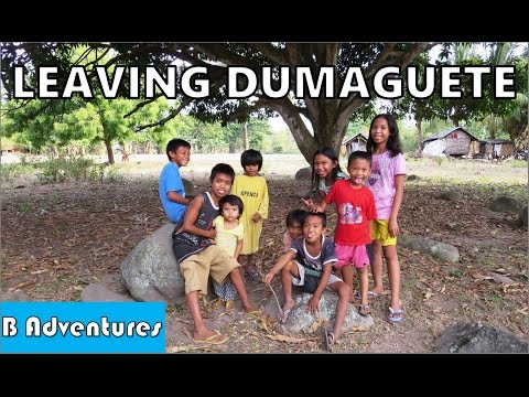 Dumaguete: Kids, Cows, Sibulan Airport, Negros Oriental, Philippines S2 Ep37