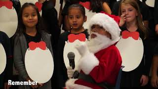 Tyson Elementary 2nd Grade Christmas Concert 2017 | How The Penguins Saved Christmas