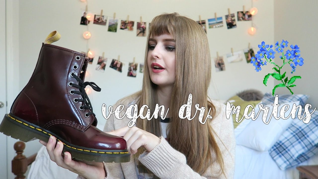 vegan dr martens review youtube. Black Bedroom Furniture Sets. Home Design Ideas
