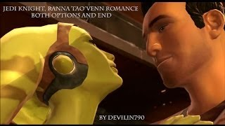 SWTOR: Jedi knight, Ranna Tao'Ven Romance both options and end