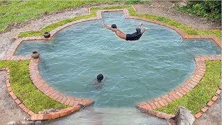 Build Beautiful Swimming Pool Underground( full)