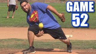 CRAZY PITCH!   On-Season Softball Series   Game 52