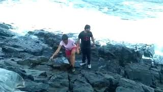 Two Tamil Nadu tourists drown off Goa beaches while clicking selfies Live Accident