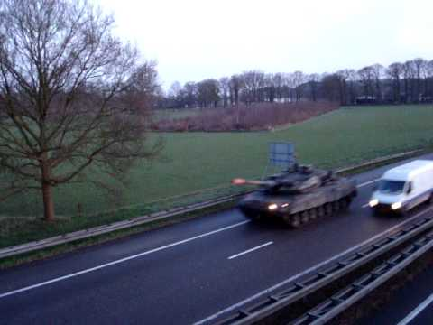 Leopard 2 Convoy, A28 (the Dutch)