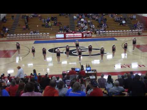 Coffee County Middle School Cheerleading Team (2-7-17)