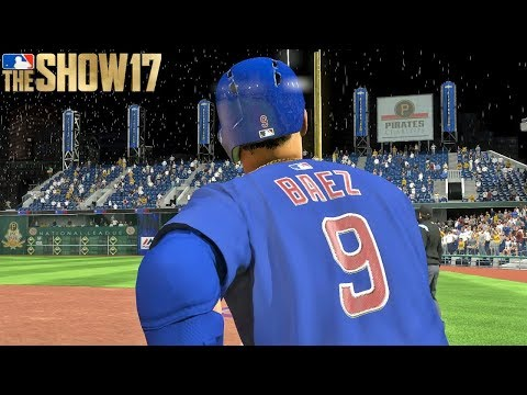 Javier Baez Grand Slam Gives Cubs The Victory | MLB The Show 17