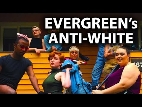 Evergreen State College Says Whites Can't Speak