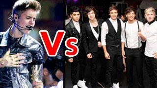 One Direction TOPS Justin Bieber on VEVO