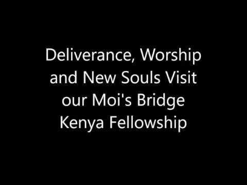 Deliverance and Visitors in Moi's Bridge Kenya