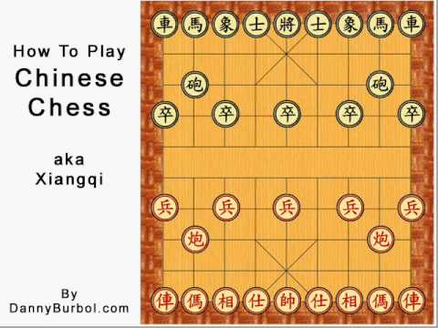 How to play Chinese Chess (1of2)