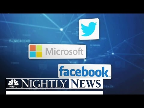 Tech Giants Rally to Apple's Side in Privacy Battle With FBI | NBC Nightly News