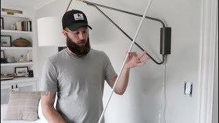 How to Hide Light Fixture Cords