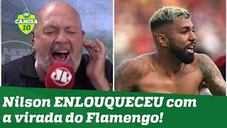 """CHUPA, RIVER!"" OLHA como narrador ENLOUQUECEU com a virada do Flamengo!"