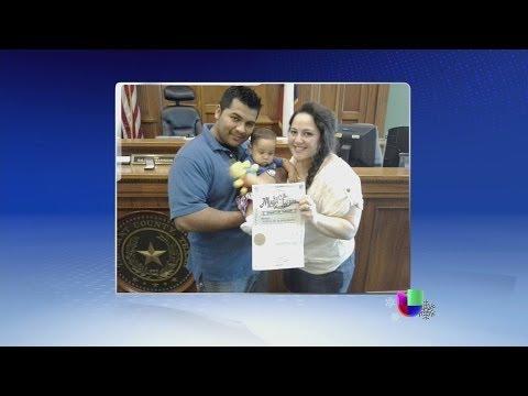 Una familia hispana de Texas vive un drama de vida o muerte -- Noticiero Univisión
