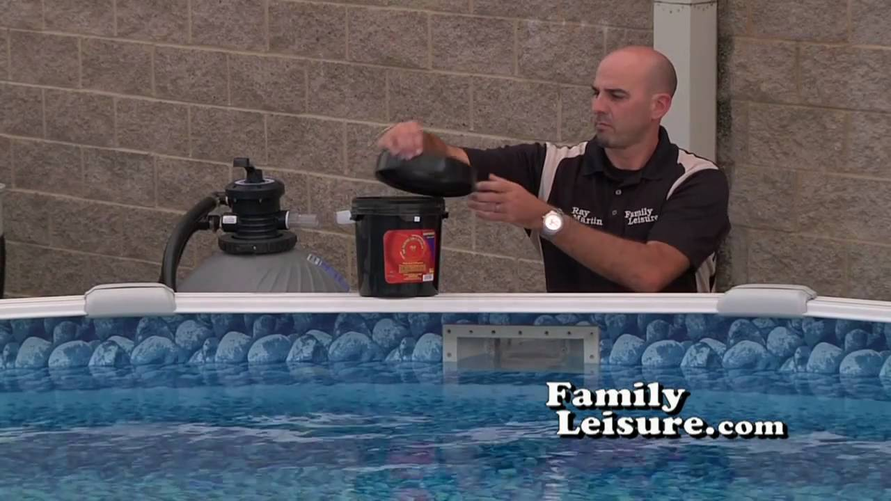 Winterizing Part 1 How To Close A Swimming Pool For The Winter