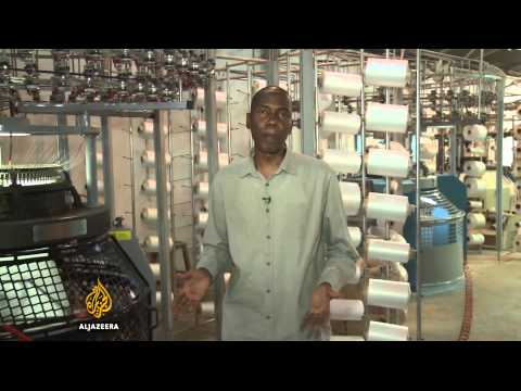Nigeria's textile industry suffering from shaky economy