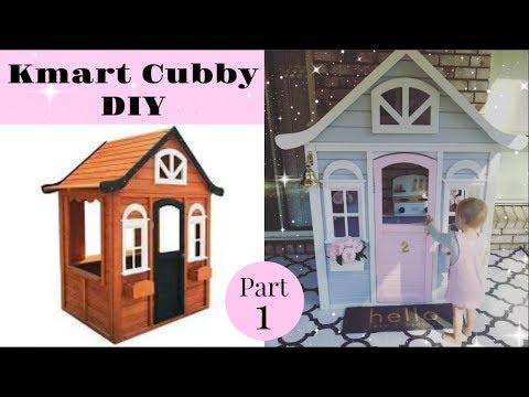 Kmart Cubby DIY : PART 1 - The Process