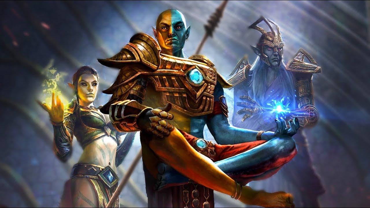 The Living Gods EXPLAINED - The Tribunal: Almalexia, Vivec & Sotha Sil -  Elder Scrolls Lore