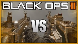 Black Ops 2 - SCAR-H vs AN-94 Comparison - BO2 Weapon Comparision (BO2 Multiplayer Gameplay)