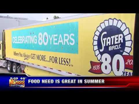 Stater Bros. and Customers Make BIG Donation to the Food Bank