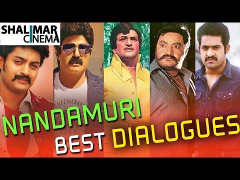 Nandamuri Family Best Telugu Punch Dialogues || N.T.R, Balakrishna, Harikrishna, Kalyan Ram