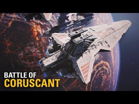 Battle of Coruscant ROTS Map Mod   4K Gameplay Star Wars Battlefront II thumbnail