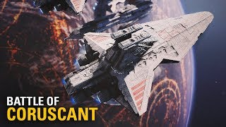 Battle of Coruscant Map Mod | 4K Gameplay Star Wars Battlefront II
