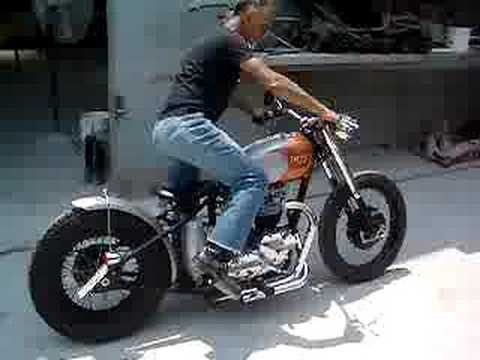Juliet - 1970 Triumph Bobber by Hollywood Bobbers - YouTube
