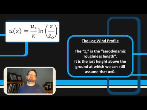 WINDPOWER    The Log Wind Profile, Part 1