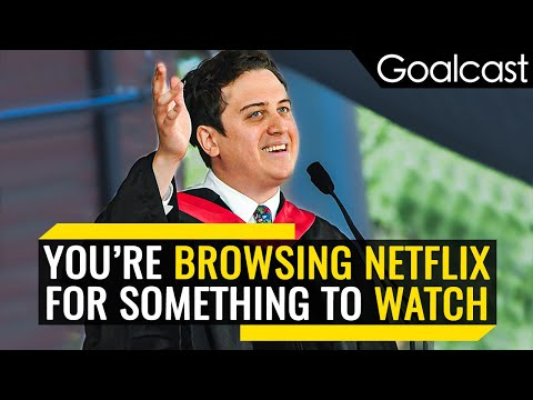 What Netflix Taught Me About Life | Pete Davis | Goalcast