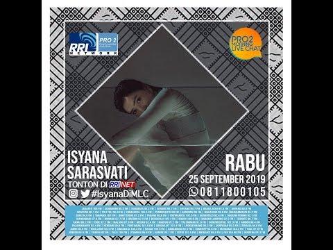 ISYANA SARASVATI -   Morning Live Chat Pro2 FM RRI Jakarta (Live Video Corner RRI)