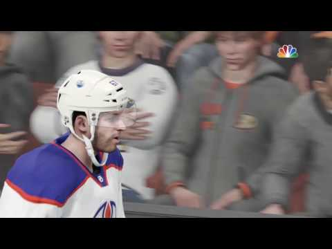Edmonton Oilers @ Anaheim Ducks 1 | NHL 17 Playoff Simulation PS4