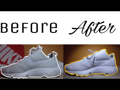 Cleaning Nike Presto Fly