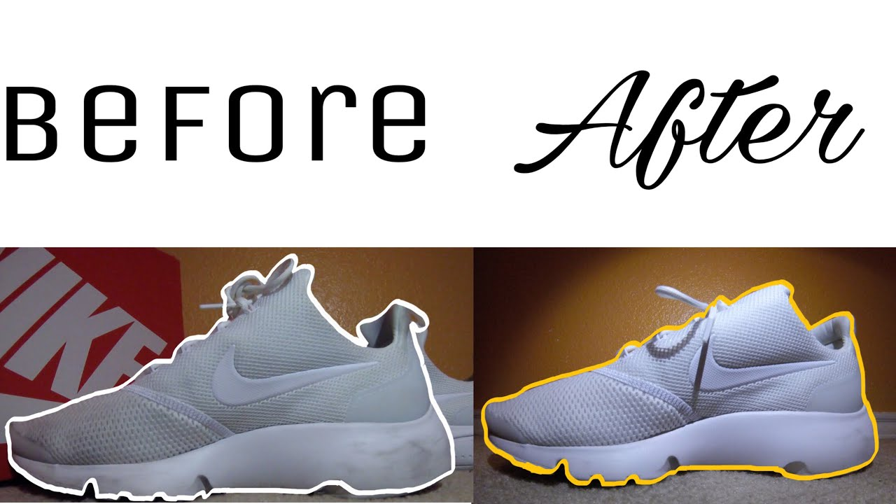 2ce0cef3d570 Cleaning Nike Presto Fly - YouTube