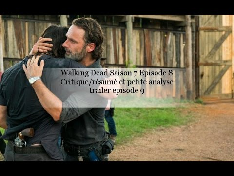 the walking dead saison 7 episode 8 critique r sum et petite analyse trailer pisode 9 youtube. Black Bedroom Furniture Sets. Home Design Ideas