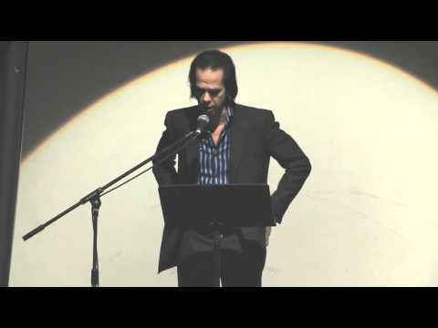 2013 12 10 Nick Cave reads his letter to MTV at LettersLive