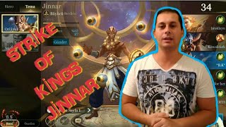STRİKE OF KİNGS ARENA OF VALOR JİNNAR RÜTBELİ MAÇ