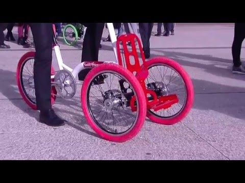 Le vélo tricycle Kiffy, une innovation made in Saint-Etienne