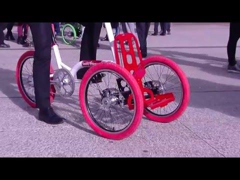 Di Blasi R32 Folding Tricycle Demo Doovi