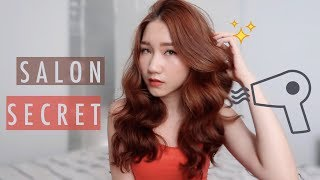 HOW TO BLOW DRY in 10 min to have gorgeous curls  - SALON'S TIPS